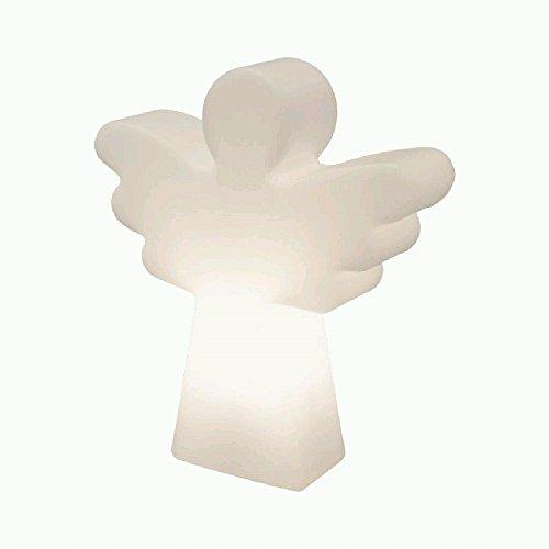 8 seasons design | LED Dekoleuchte Engel Shining Angel Mini (40 cm, RGB Farbwechsel, Weihnachtsdeko, Innenbeleuchtung, Außenbeleuchtung) weiß