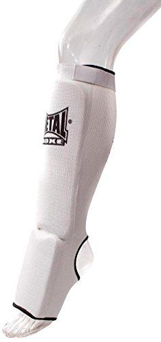 METAL BOXE mb153Schienbeinschoner/Füße XS weiß - weiß