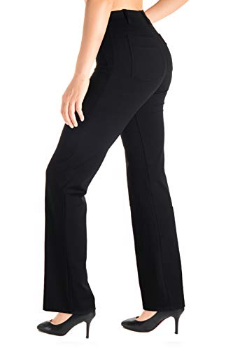 Yogipace - Yoga-Hosen für Damen in 35-tall-black, Größe XX-Large/37