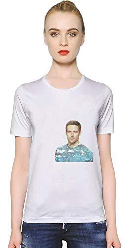 Movie Stars Merchandise Dylan Bruce Women T-Shirt Girl Ladies Stylish Fashion Fit Custom Apparel by