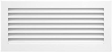 Rejilla Kratki FRESH 17 cm x 37 cm blanco,Rejilla de ventilación