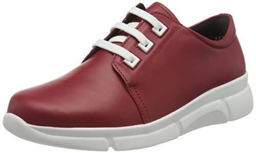 Berkemann SWEA, Sneakers Basses Femme, Rouge (Signalrot 275), 35.5 EU