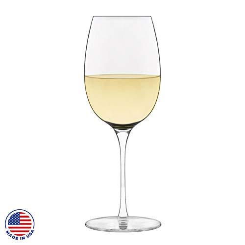 Libbey Signature Kentfield Classic White Wine Glasses, Set of 4 American Classic Wine Set