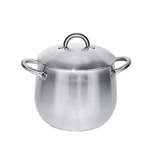 Poêlons à soupe en acier inoxydable 304 épais en acier inoxydable pour casseroles à induction