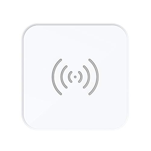 7.5/10W Wireless Charger, CHOETECH Qi Wireless Ladestation 7.5W für iPhone 12/12 Pro Max/SE 2020/11/11 Pro/11 Pro Max/XS MAX/XR/XS,10W für Galaxy S20/S10/Note 20/10/9/S9/S8, Airpods 2/Pro,Huawei