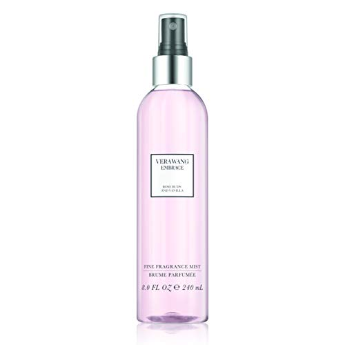 Vera Wang Embrace Body Mist for Women Rose Buds and Vanilla Scent 8 Fl Oz Body Mist Spray Romantic, Floral and Warm Fragrance