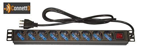 Connetto MULTIPRESA da Rack 19