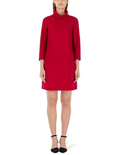 Marc Cain Additions Damen HA 21.08 J30 Kleid, Rot (Salsa 276), (Herstellergröße: N4 / 40)