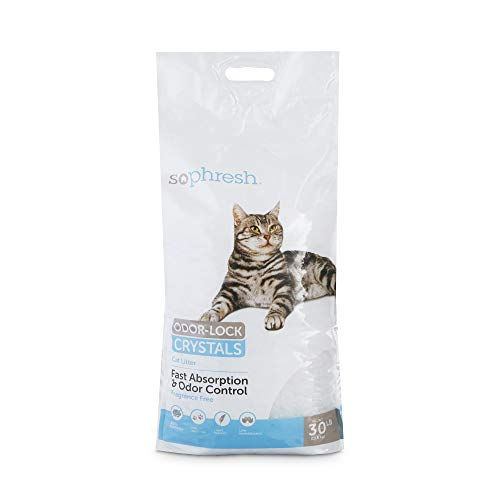 So Phresh Odor-Lock Crystal Cat Litter, 30 lbs.