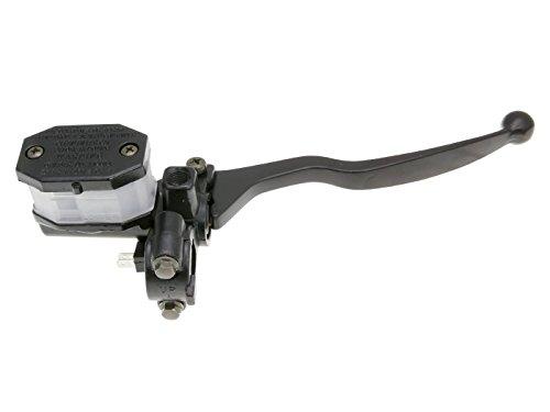 Universale Bremspumpe/Bremszylinder/Hauptbremszylinder rechts mit Bremshebel für Roller, Moped, Mokick, Motorrad, Quad & ATV - Spiegelhalterung M8