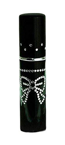Parfum Taschenzerstäuber Serie 3 im Metallic-Look schwarz - 5 ml