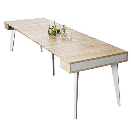 Mesa Salón Comedor Extensible con Sillas Marca Comfort Products