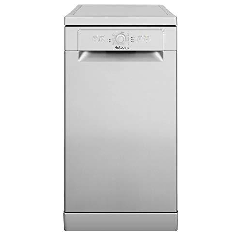 Hotpoint Aquarius Slimline Freestanding Dishwasher - Silver