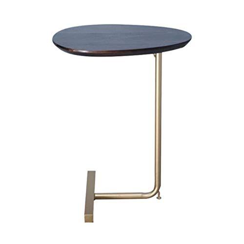 SZQ-Bouts de canapé Tables Basses, par Bois Domestique Creative Side Table Chambre The Sofa Balcon Loisirs Table de Lecture Facile à déplacer Guéridons (Color : B, Size : 45 * 30 * 60CM)