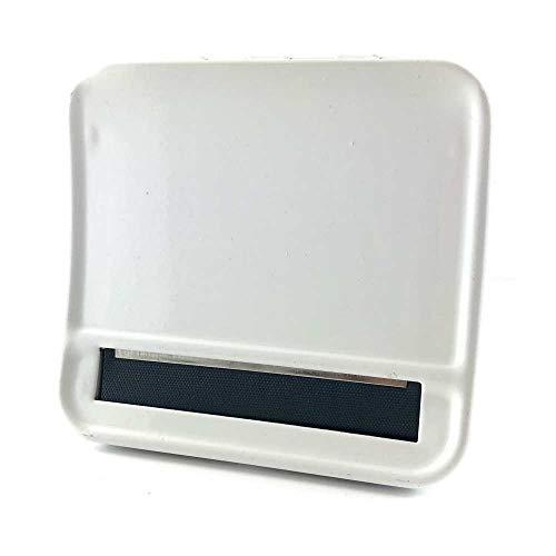 【C438】HEYU レギュラーサイズ(70mmまで)手巻きタバコローラー ホワイト/白 手巻きタバコ ローリングボックス [並行輸入品]