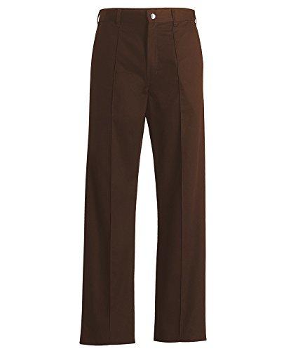 Alexandra STC-NM30BR-52R Essentiële Heren Werkkleding Broek, Plain, Regelmatig, 65% Polyester/35% Katoen, Maat: 52, Bruin