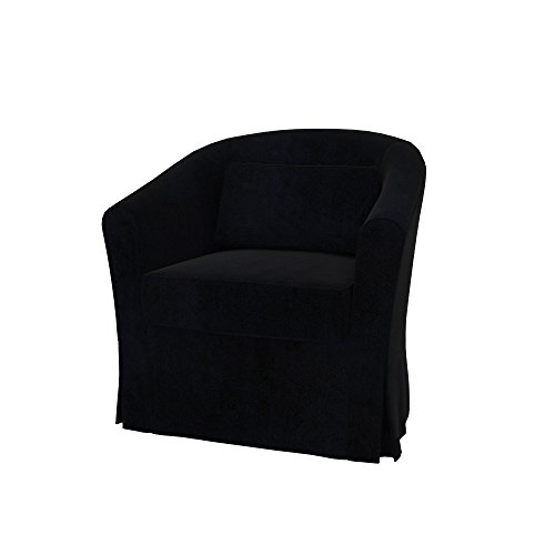 Soferia - Bezug fur IKEA EKTORP TULLSTA Sessel, Eco Leather Black