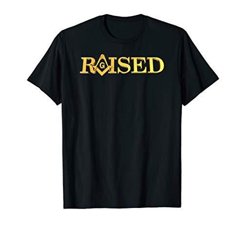 Masonic Raised Square And Compass Freemason T-Shirt