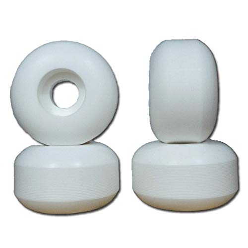 Nudes 58mm Blanches Roues skateboard - 99A