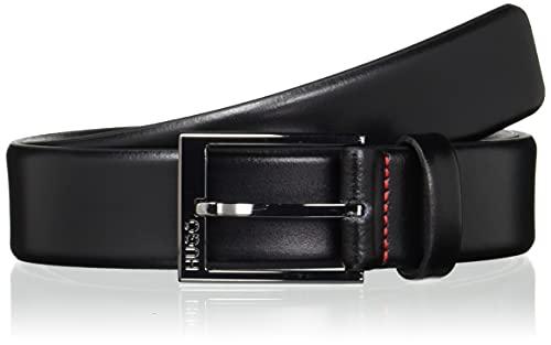 HUGO Garney_sz35 Cintura, Nero (Black 001), 9 (Taglia Produttore: 105) Uomo