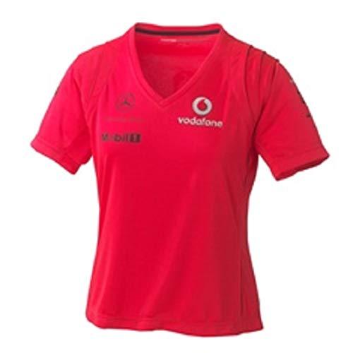 McLaren Vodafone Mercedes Rocket Red Ladies V03 T-Shirt