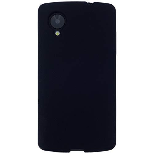 Nexus5 黒シリコン ケース カバー nexus5ケース nexus5カバー ネクサス5ケース ネクサス5カバー nexus 5 ネクサス ネクサス5 スマホケース スマホカバー ソフトケース ブラック Blacksiri