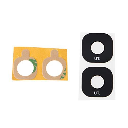 YOURPAI Lente de Cristal de la cámara, reemplazo de la Lente de Cristal de la cámara Trasera del teléfono móvil para S7 / S7 Edge