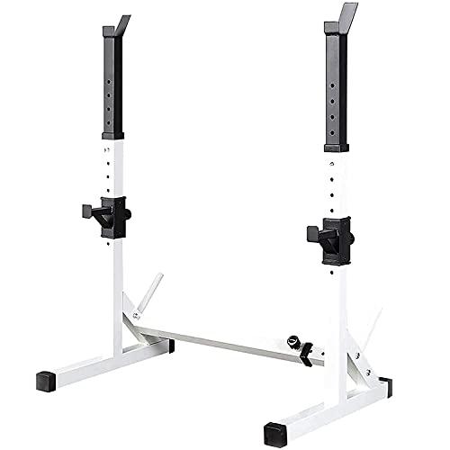 DSHBB Soporte para Mancuernas multifunción Soporte para Mancuernas Ajustable en Altura para hasta 250 kg Soporte para Sentadillas Soporte para Mancuernas para un Entrenamiento Muscular eficaz,C