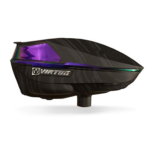 Virtue Spire IV Electronic Paintball Loaders/Hoppers - Graphic Amethyst