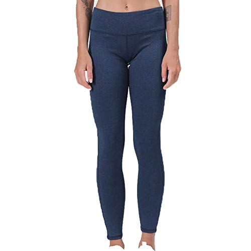 Leggings Mujer Yoga Mujer Transpirables para Yoga Azul Fitness Estiramiento Yoga para Sports Fitness Gym