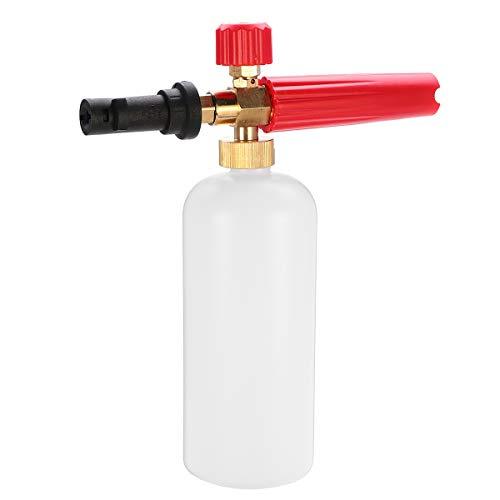 Gesh Lanza de espuma para lavadora de coche de 1000 ml de alta presión jabón espumante limpiador automático de boquilla ajustable pulverizador para la serie Karcherk