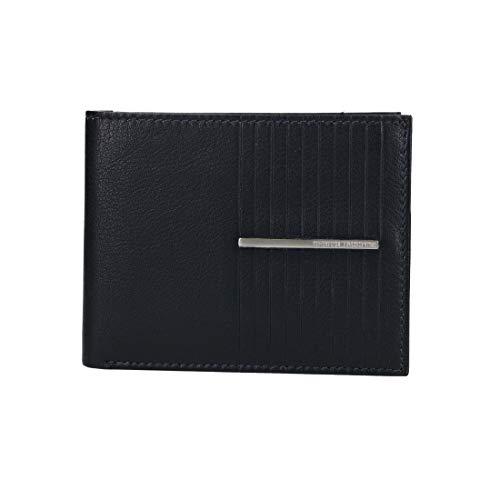 Sergio Tacchini Mini portefeuille homme bleu cuir avec pmonnaie rabat VA2908