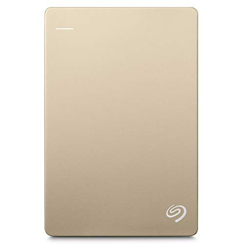 Seagate 1TB Backup Plus Slim USB 3.0 External Hard Drive 2.5 Inch for PC and Mac with 2 Months Free...