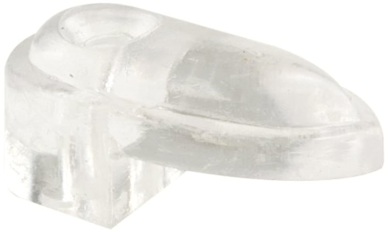Prime-Line Products U 9137 1/4-Inch Glass with Screw and Anchor Decorator Mirror Clip,(Pack of 6)