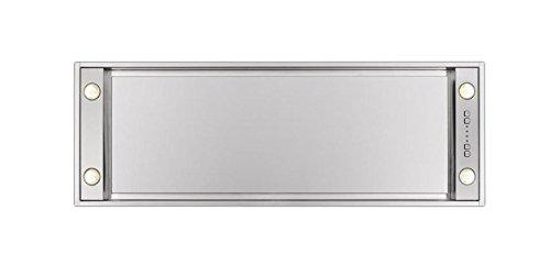 Novy Pure'Line Mini 810 370 m³/h, integriert, Schwarz, Edelstahl – Dunstabzugshaube (370 m³/h, Leitung, 57 dB, integriert, Schwarz, Edelstahl, Edelstahl)