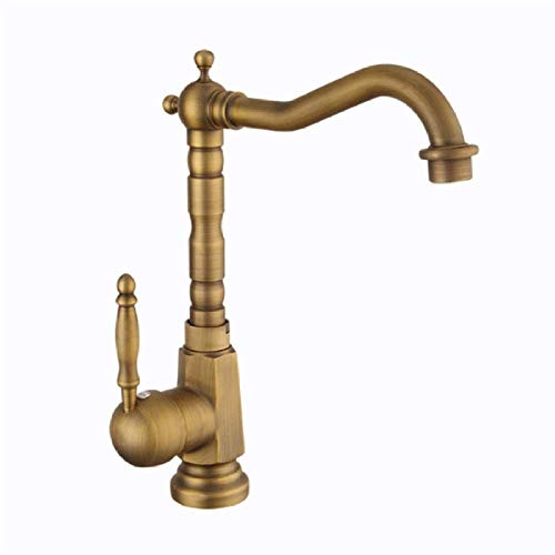 BH-JJSMGS,Grifo retro del lavabo del baño, grifo que se mezcla frío y caliente del fregadero del grifo de la mezcla que se eleva sobre el lavabo sobre el grifo contrario del lavabo