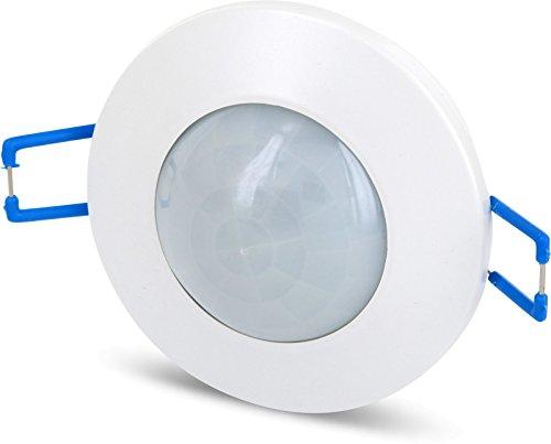 2in1 IR Bewegungsmelder 360° - Einbau + Aufbau + mit Dämmerungssensor - LED geeignet