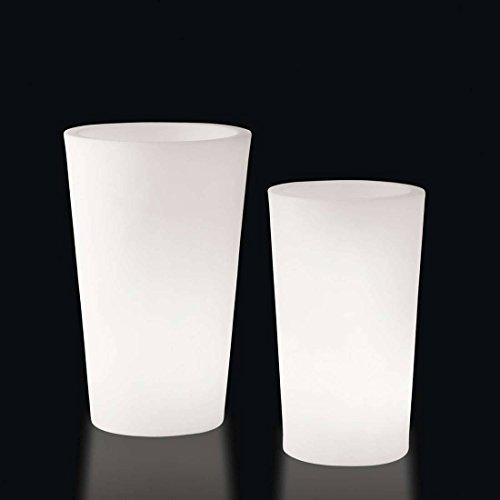 Slide design - Pot de fleurs rond lumineux X-Pot Light
