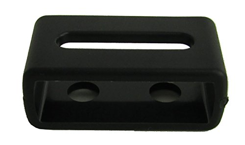 『カシオ純正 G-shock専用 ウレタンバンド用 遊環 ブラック(取換説明書付き) (A:【内寸22×6.9mm】)』の3枚目の画像