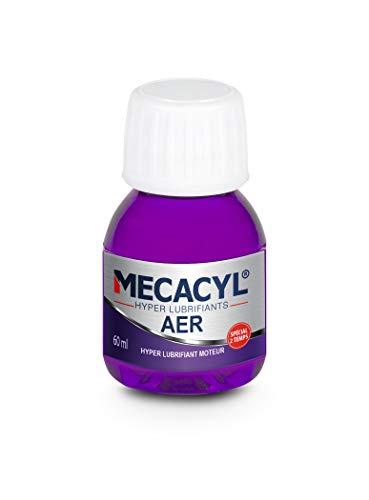 Mecacyl AER - Flacon 60 ML - Hyper-Lubrifiant - Spécial Vidange Moteurs 2 Temps - Essence