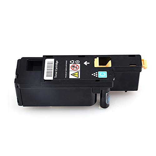 C1660W Toner Cartridge, Suitable for DELL C1660W, Strong Compatibility, no harm to Printer, Full Color, Clear Printing, no Powder Leakage (with chip)-Cyan