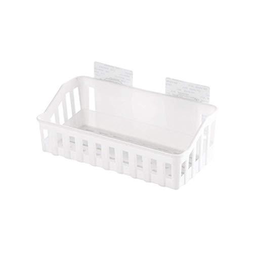 CESULIS Soporte de flores para cocina o baño, cesta de ducha con succión de pared, compatible con papel higiénico, champú de gel de ducha (beige), estante organizadores/estantes