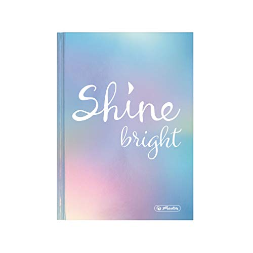 herlitz 50029181 Schülerkalender 2020/2021, A6, Motiv: Shine bright, 1 Stück