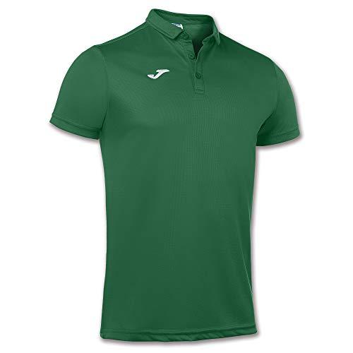 Joma Hobby, Polo para Hombre, Verde (450), M