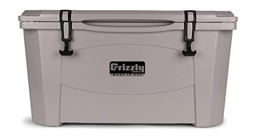 Grizzly 60 Cooler, Gray, G60, 60 QT