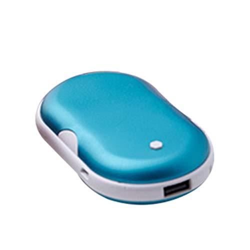 Dailyinshop 2 in 1 Netten USB aufladbare Handwärmer Und 5200mA tragbaren Mini-Reise Handy-Long-Life-Taschen-Handwärmer