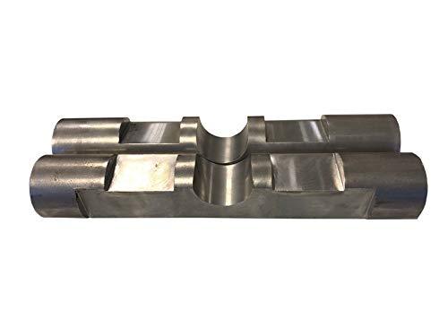 2x Bolzen Symlock als Bausatz Aufnahme/Schnellwechsel Adapter MS01 Minibagger Bagger