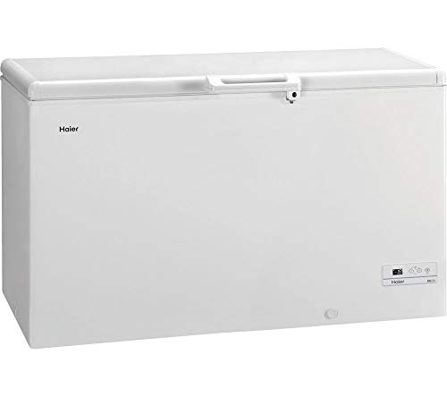 Haier HCE429 Freestanding Chest Freezer, With Counter Balance Lid, 429L...