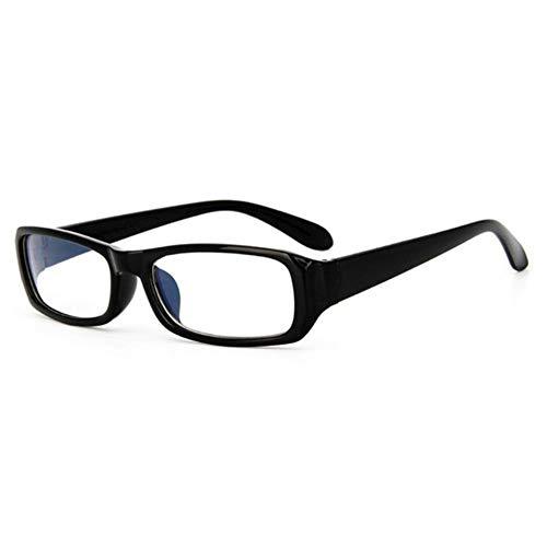 SPI computerbril met blauw lichtblok, klassieke bril met vierkant frame, transparante glazen, unisex, anti-vermoeidheid, duurzaam