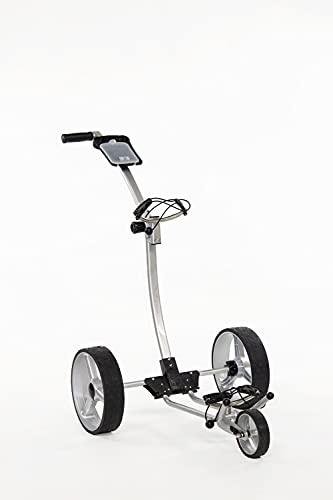 Yorrx® Slim Lion Pro 5 Plus Golftrolley/Golfwagen/Golf Cart; inkl. Trinkflaschenhalter, Mattentee & 3xStk. Vulcan7 Golfballset (Limited Edition)